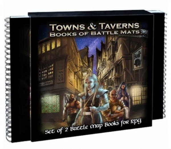Book of Battle Mats: Towns & Taverns