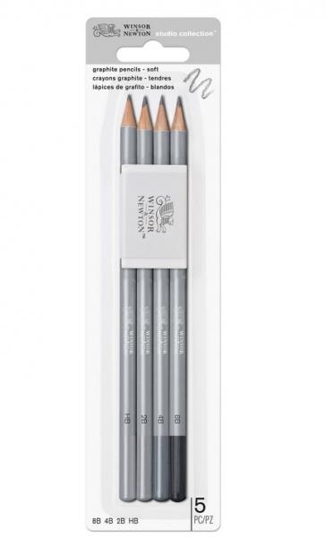 Winsor & Newton: Studio Collection Graphite Pencil Set - Soft