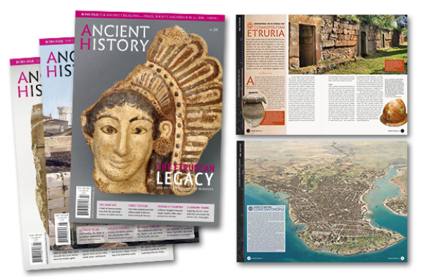 Ancient History Magazine: One Year Subscription (6 Issues)