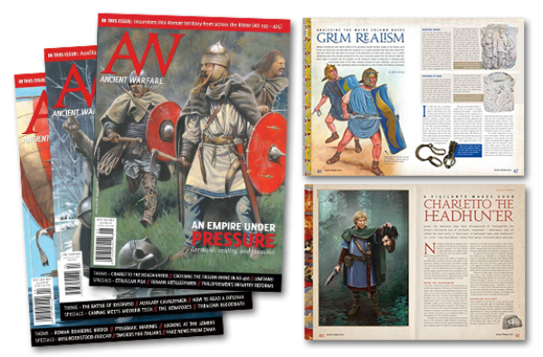 Ancient Warfare Magazine: One Year Subscription (6 Issues)