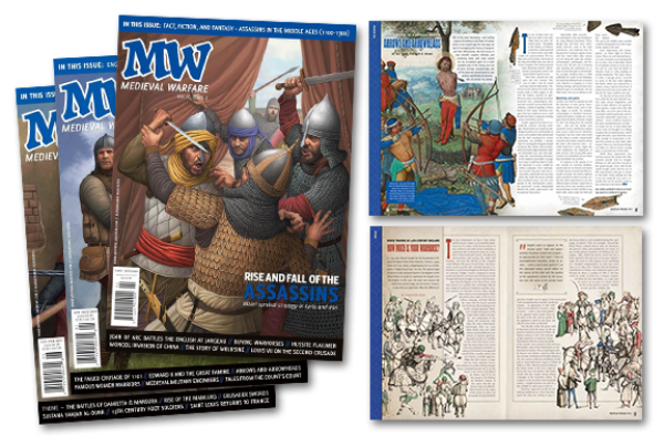 Medieval Warfare Magazine: One Year Subscription (6 Issues)