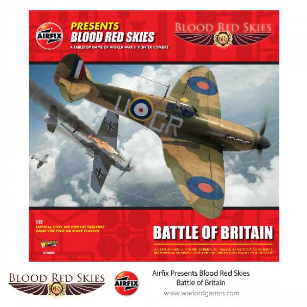 Airfix Presents Blood Red Skies - Battle of Britain