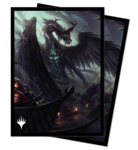 Magic: Strixhaven School of Mages ChromaFusion 100ct Art Sleeves - Beledros Witherbloom