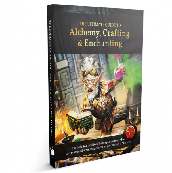 D&D: The Ultimate Guide to Alchemy, Crafting & Enchanting (5E) (HC)