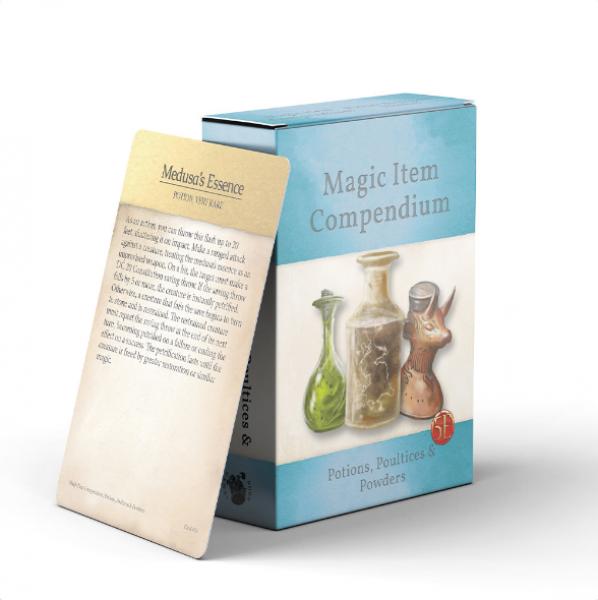 D&D: Magic Item Compendium Deck - Potions, Poultices & Powders (5E)