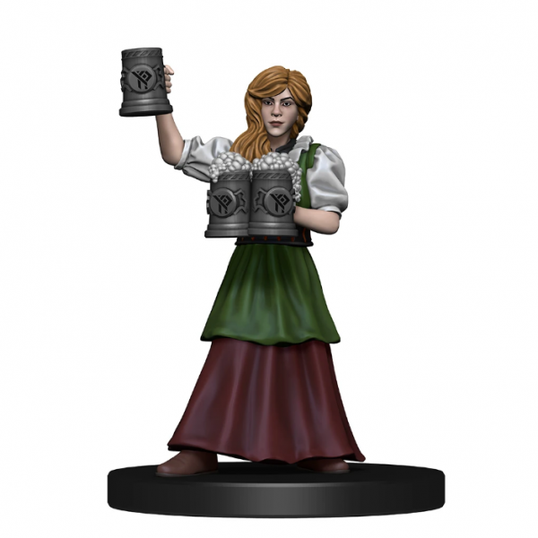 D&D Miniatures: Icons of the Realms - The Yawning Portal Inn Friendly Faces Pack