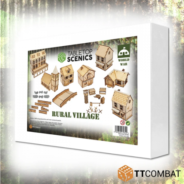 Tabletop Scenics: Rural Village Set