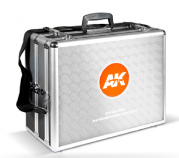 AK-Interactive: 3rd Gen Acrylics 236 Colors Briefcase