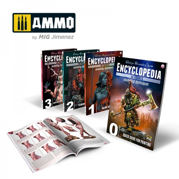 AMMO: Complete Encyclopedia of Figures Modelling Techniques
