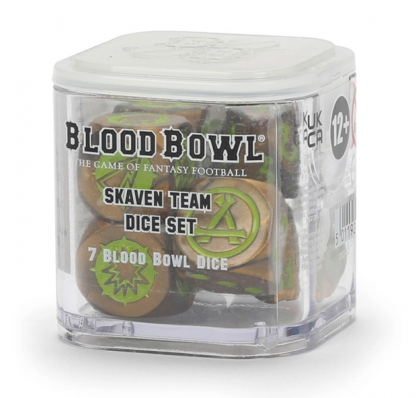 Blood Bowl: Skaven Team Dice Set