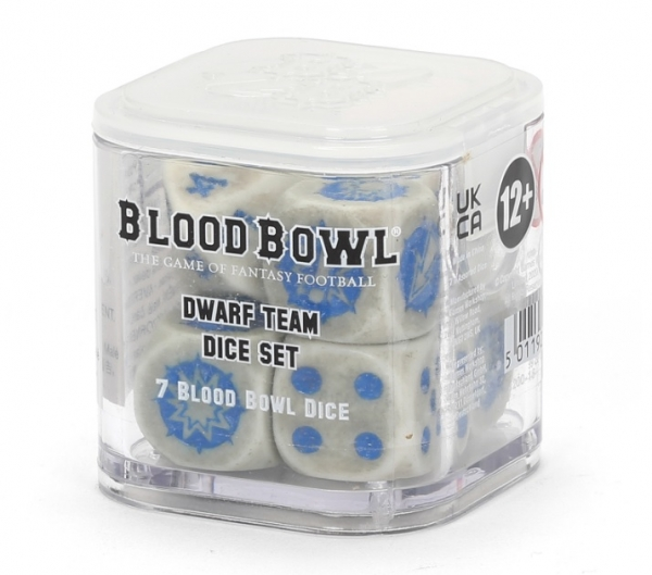 Blood Bowl: Dwarf Team Dice Set