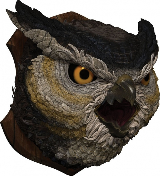 Dungeons & Dragons Owlbear Trophy Plaque