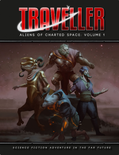 Traveller RPG: Aliens of Charted Space Volume 1