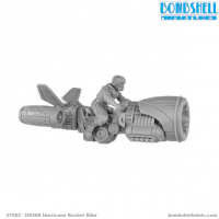 Bombshell Miniatures: HS39B Hurricane Rocket Bike