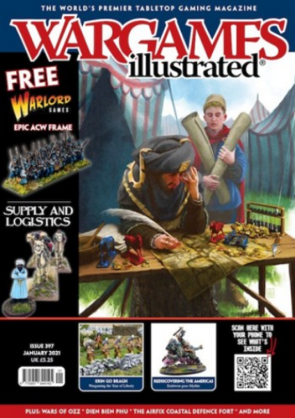 Wargames Illustrated Magazine #397 (January 2021) (w/Black Powder Civil War sprue)