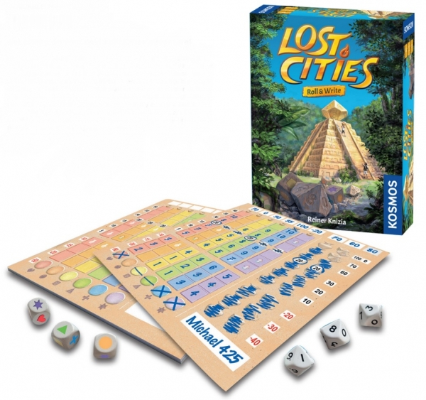 Lost Cities: Roll & Write