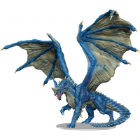 D&D Miniatures: Icons of the Realms Premium Figure - Adult Blue Dragon