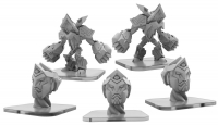Monsterpocalypse: Jurors and Abrogator – Masters of the 8th Dimension Unit (metal)