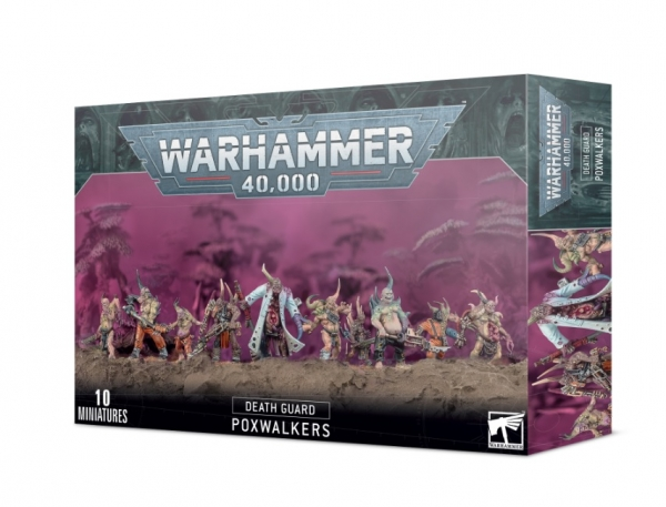WH40K: Death Guard Poxwalkers [LIMITED/ALLOCATED]