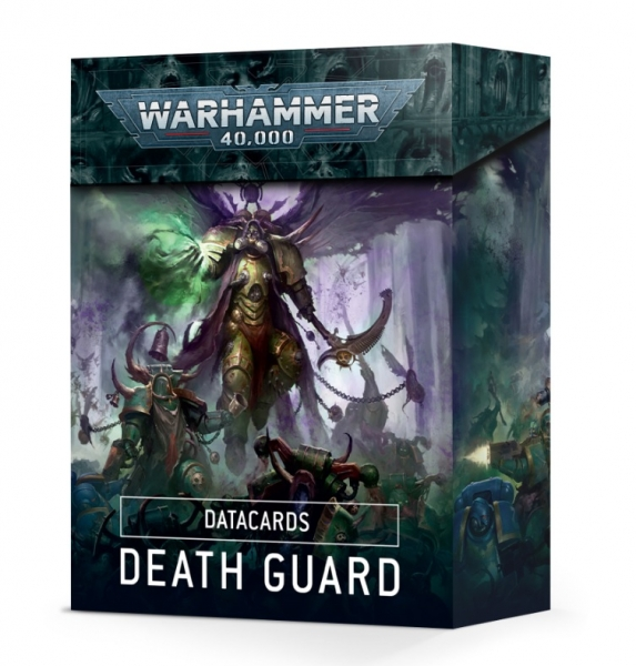 WH40K: Death Guard Data Cards (2021) [LIMITED/ALLOCATED]