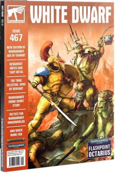White Dwarf Magazine Issue 467 (August 2021)