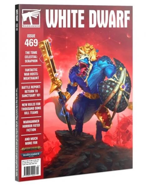 White Dwarf Magazine Issue 469 (October 2021)
