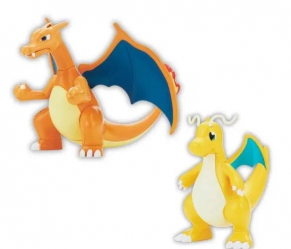 Bandai: Pokemon Model Kit - Charizard & Dragonite