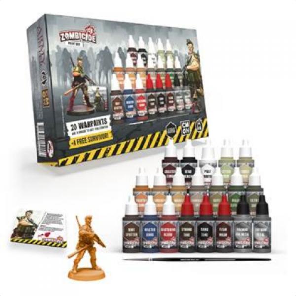 Warpaints: Zombicide 2nd Edition Paint Set