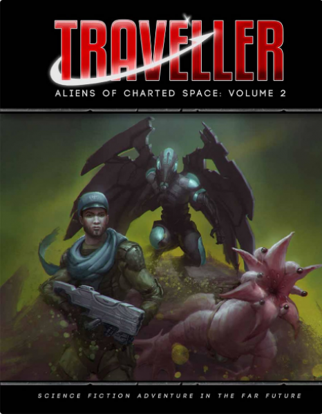 Traveller RPG: Aliens of Charted Space Volume 2