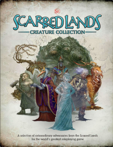 D&D 5th Edition: Scarred Lands Creature Collection (5E)