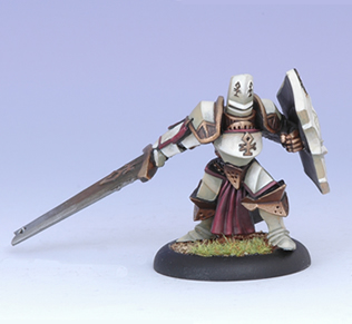 (The Protectorate Of Menoth) Sir Ekkrion, Paladin