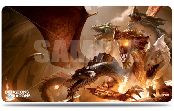 Game Play Mat: D&D Cover Series - The Rise of Tiamat