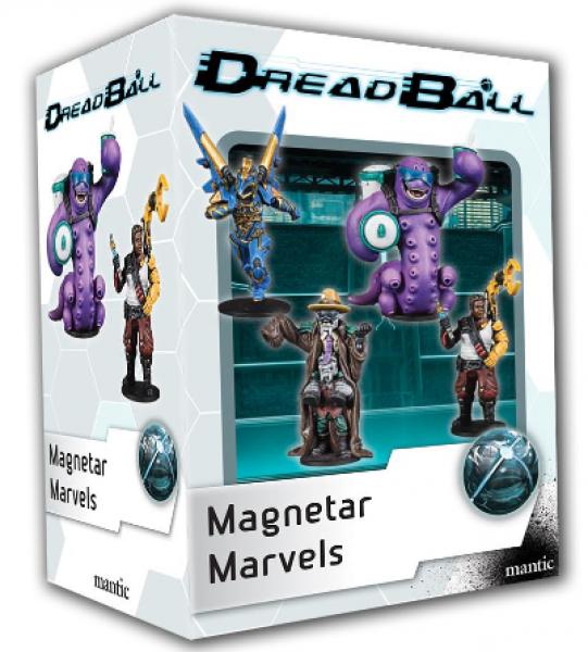 DreadBall 2nd Edition: Magnetar Marvels