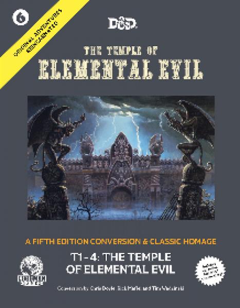D&D 5th Edition: Original Adventures Reincarnated #6 - The Temple of Elemental Evil (HC)