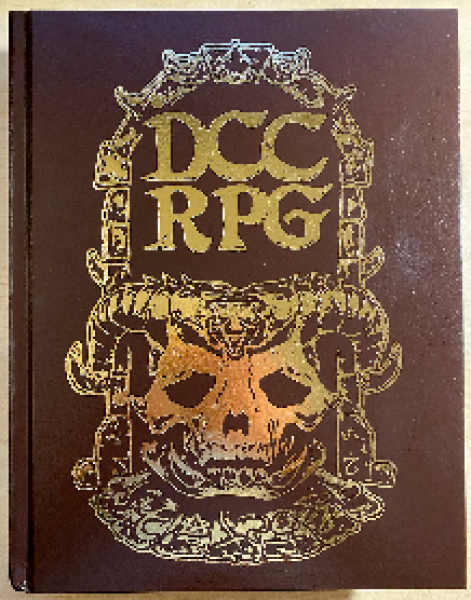 Dungeon Crawl Classics RPG: Demon Skull Re-issue Kickstarter Edition (HC)