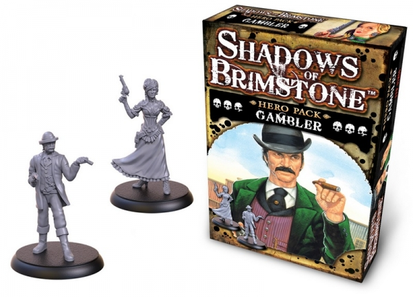 Shadows Of Brimstone: Hero Pack - Gambler