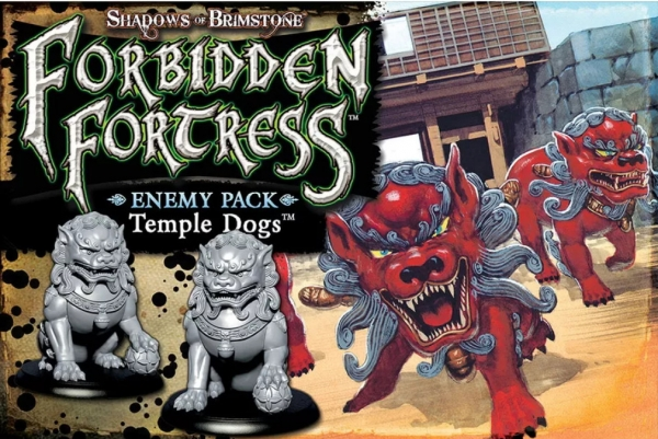 Shadows Of Brimstone: Enemy Pack - Temple Dogs