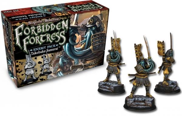 Shadows Of Brimstone: Enemy Pack - Takobake Samurai