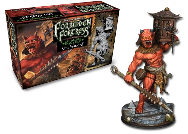 Shadows Of Brimstone: Deluxe Enemy Pack - Oni Warlord XXL
