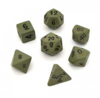 Ceramic Dice: Forgotten Forest Standard Set (7-Dice)