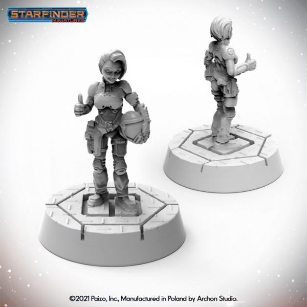 Starfinder: Halfling Pilot