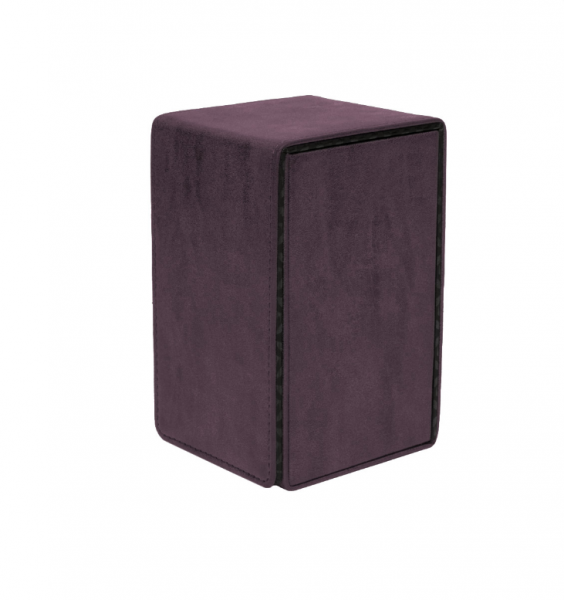 Suede Collection: Alcove Tower Deck Box - Amethyst
