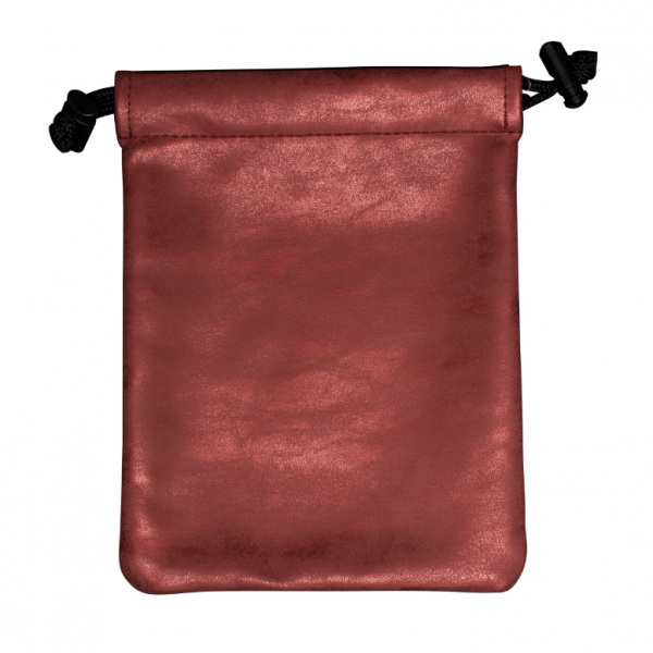 Suede Collection: Treasure Nest Bag - Ruby