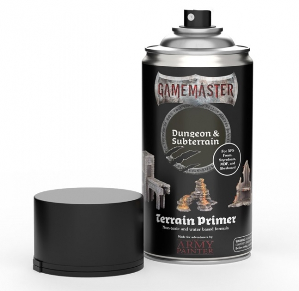 Army Painter: Gamemaster Terrain Spray Primer - Dungeon & Subterrain