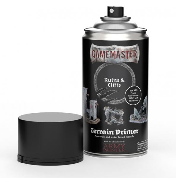 Army Painter: Gamemaster Terrain Spray Primer - Ruins & Cliffs