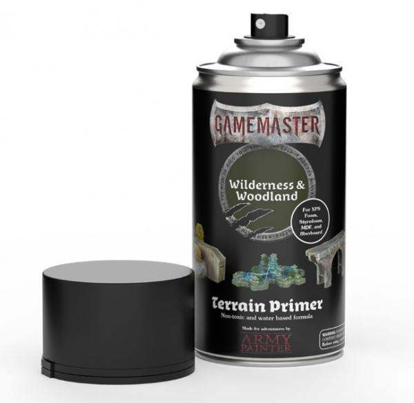 Army Painter: Gamemaster Terrain Spray Primer - Wilderness & Woodland