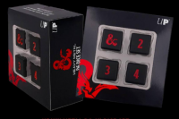D&D: Heavy Metal D6 Dice Set (4)