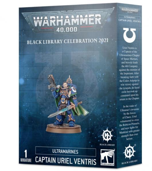 Warhammer 40,000: Black Library Celebration Day - Captain Uriel Ventris