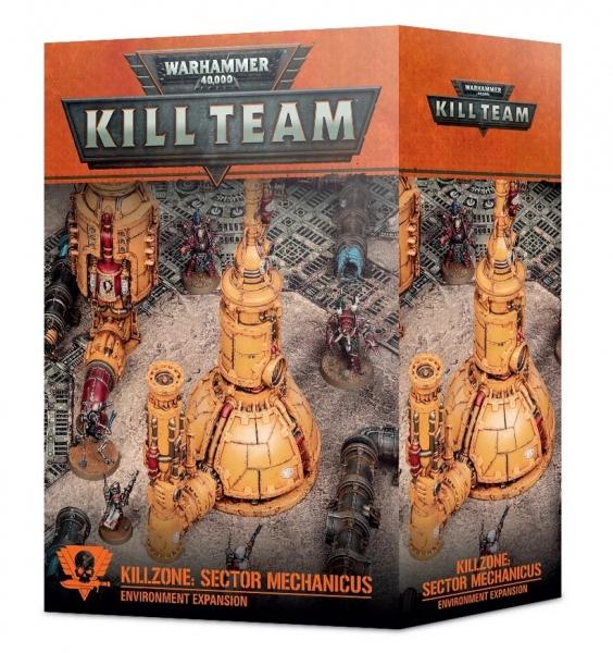 WH40K: Kill Team Killzone - Sector Mechanicus Environment Expansion