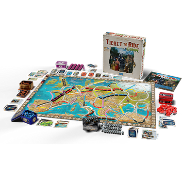 Ticket To Ride Europe - 15th Anniversary